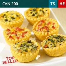 Frozen Mini 36 Quiche Selection