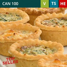 Mini Quiche Selection Pack of 48 (4x12)