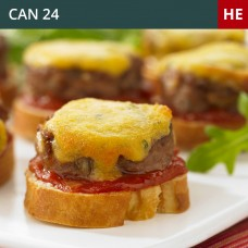 Mini Cheeseburger Crostini-Pack of 45 (1x45)