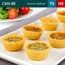 Mini Quiche Selection Pack of 96 (4x24)