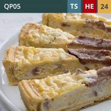 "Classic Lorraine 11"" Quiche (24-Portions 'Pick-Ups')"