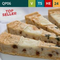 """Brie & Sun-Dried Tomato 11"""" Quiche (24-Portions 'Pick-Ups')"""