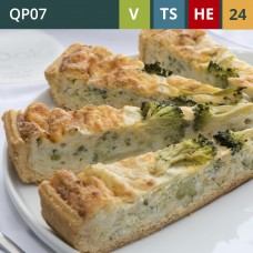 "Stilton & Broccoli 11"" Quiche (24-Portions 'Pick-Ups')"