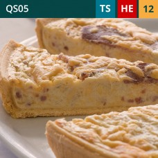 "Classic Lorraine 11"" Quiche (12-Portions 'Sliced')"