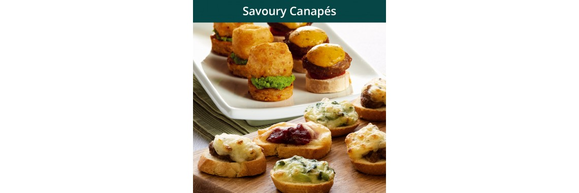 Savoury Canapes'